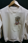 Kid's tiger sweater with pocket
